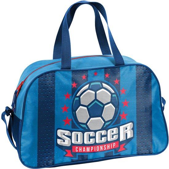 8b2decf6a3f bol.com   Sporttas - Voetbal - voor Jongens - 40 cm - Blauw