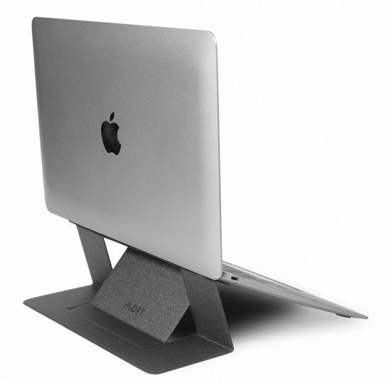 MOFT laptopstandaard grijs