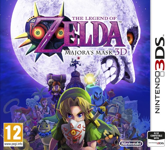 The Legend of Zelda: Majora's Mask 3D - 2DS + 3DS