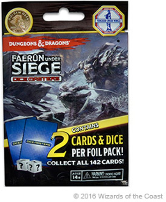 Dungeons & Dragons Dice Masters Faerûn Under Siege- Foil Pack | Losse Booster