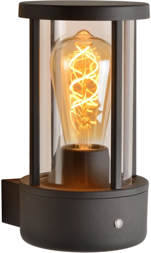 Lucide LORI - Wandlamp Buiten - E27 - IP44 - Antraciet