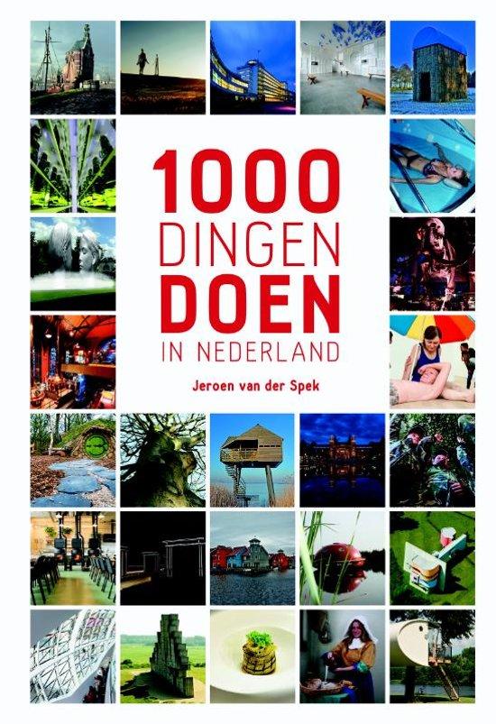 Bolcom 1000 Dingen Doen In Nederland Jeroen Van Der Spek