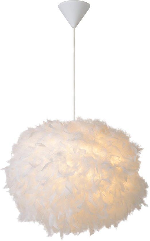 Lucide GOOSY SOFT - Hanglamp - Ø 50 cm - E27 - Wit