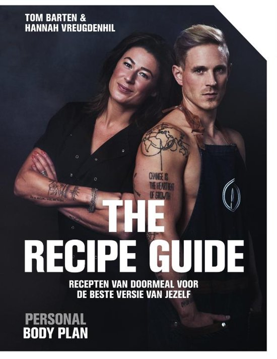 Boek cover Personal Body Plan - the recipe guide van Tom Barten (Paperback)
