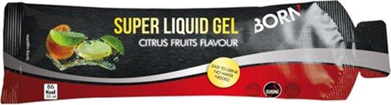 Born SUPER LIQUID GEL citrus fruits box 12 x55ml