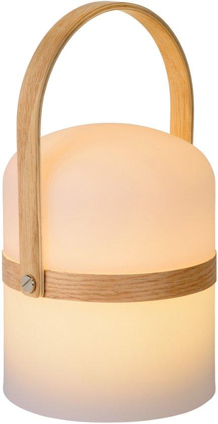 Lucide JOE Tafellamp Buiten - Ø 14,5 cm - LED Dimb. - 1x3W 2800K - IP44 - Wit