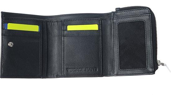 b65339cda11 Versace Jeans - Linea F Dis. 7 - heren portemonnee - zwart ...