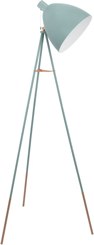 EGLO Vintage Vloerlamp - 1 Lichts - Mint
