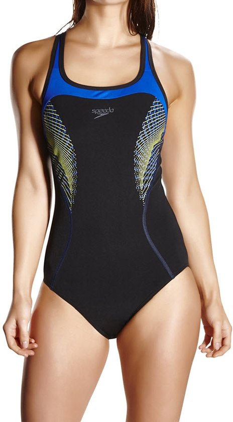 Badpak Speedo.Bol Com Speedo Fit Kickback Swimsuit Maat 38