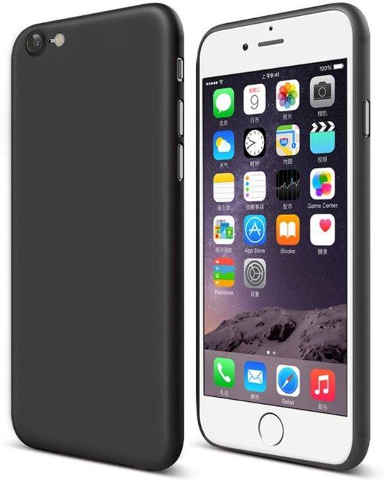 GSMWise - Apple iPhone 7 / 8 - Ultra Dunne Mat PC Back Case - Zwart in Tielt (Vl.Br.)