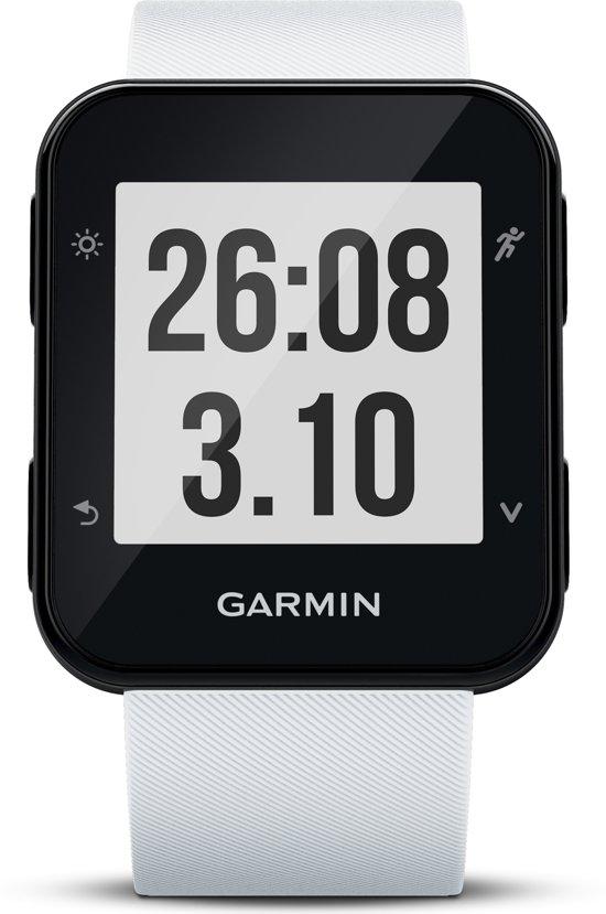 Garmin Forerunner 35 white - GPS Hardloophorloge - met polshartslag meting - 35,5 x 40,7 mm - wit