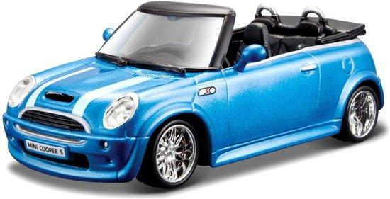 Modelauto Mini Cooper S Cabriolet 1:32 - auto schaalmodel / speelgoedauto