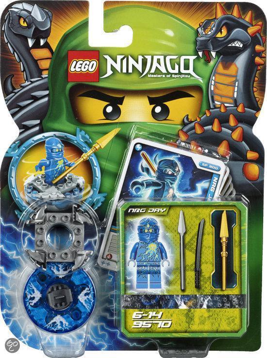 LEGO NINJAGO NRG Jay - 9570