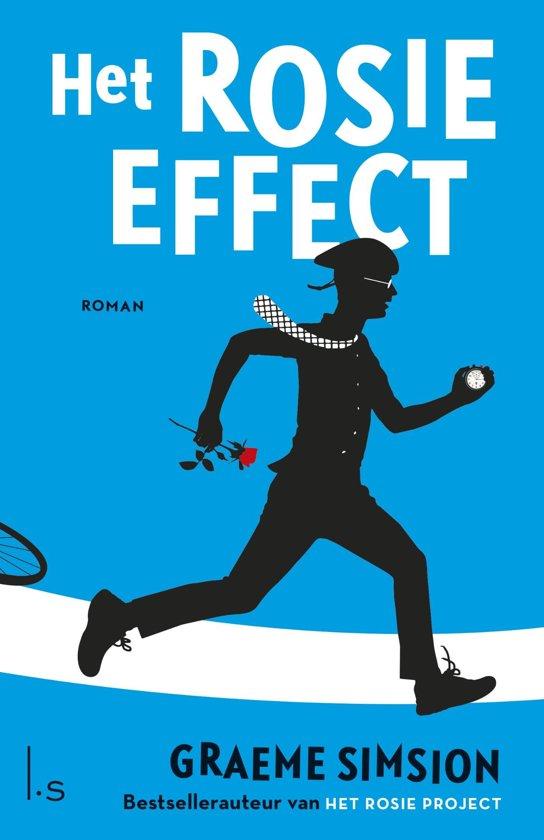Boek cover Het Rosie effect van Graeme Simsion (Onbekend)