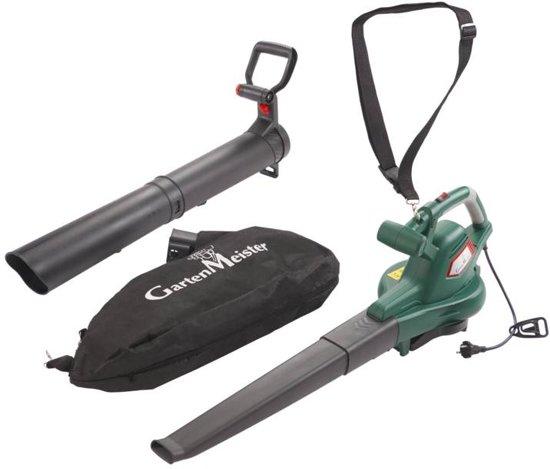 GartenMeister Elektrische bladblazer/bladzuiger GM3000 Pro 4-in-1