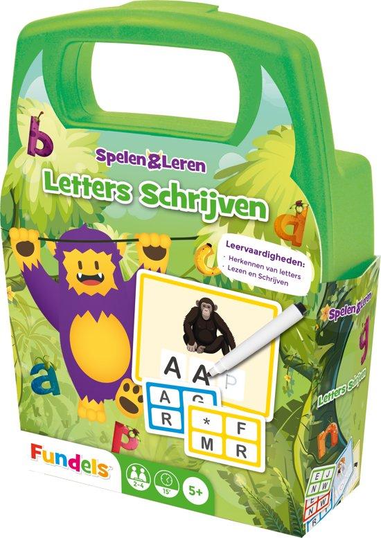 Fundels Letters Schrijven - Educatief Kaartspel