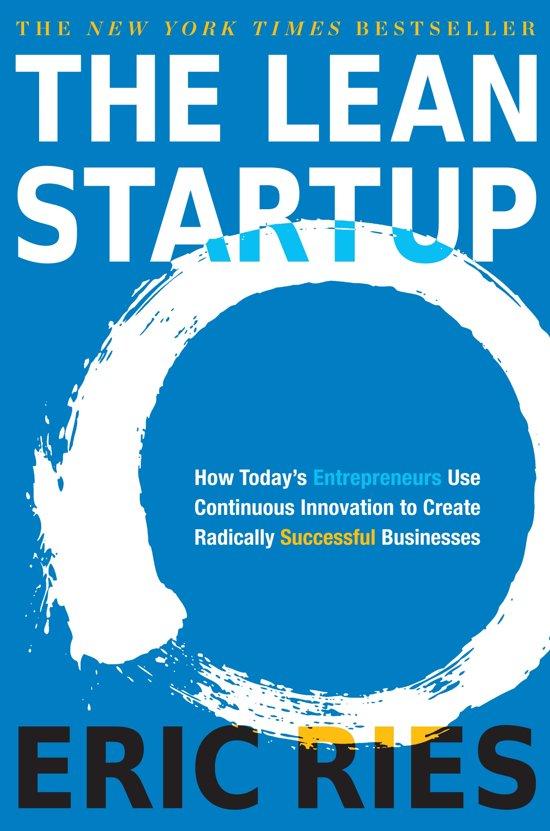 Boek cover Lean startup van Eric Ries (Paperback)
