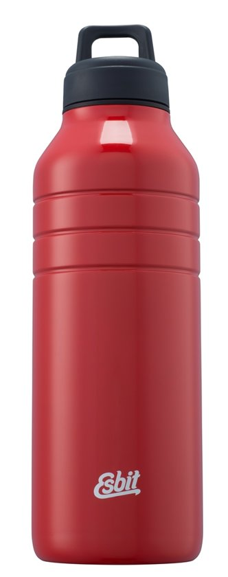 Esbit Majoris drinkfles - rvs - 1000 ml - rood