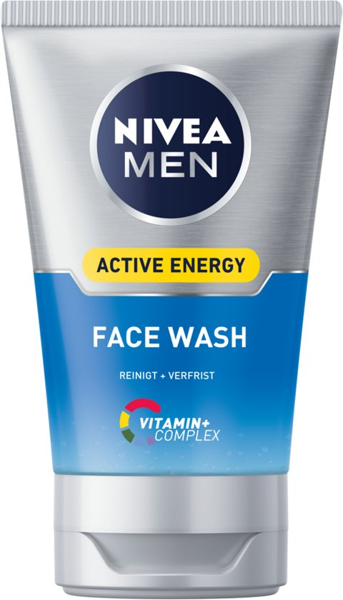 NIVEA MEN Active Energy Fresh Look Face Wash 100 ml