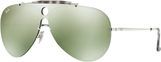 d9f161f517cfdc Ray-Ban RB3581N 003 30 - Blaze Shooter - zonnebril - Zilver   Groen