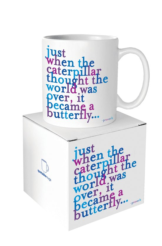 Quotable Mug Caterpillar