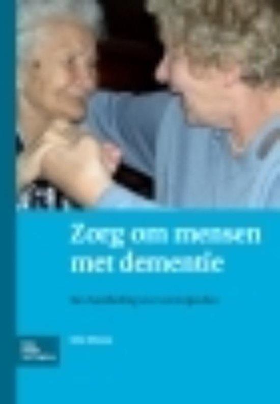 Boek cover Zorg om mensen met dementie van B. Miesen (Paperback)