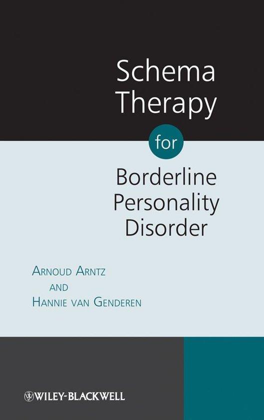 Boek cover Schema Therapy for Borderline Personality Disorder van Arnoud Arntz (Onbekend)