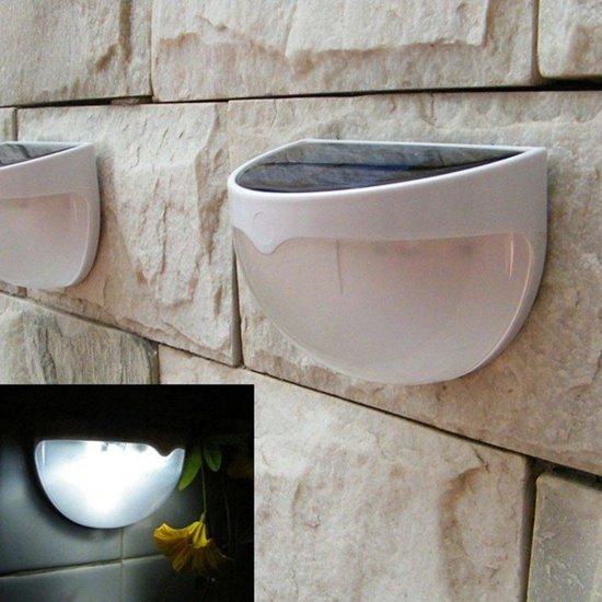 bol.com | Solar ledlamp - Tuinverlichting - Wandlamp | Solar ...