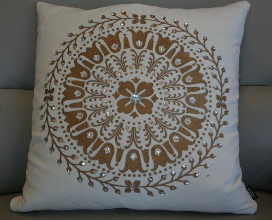 Sierkussen Golden Circle - 50x50 cm