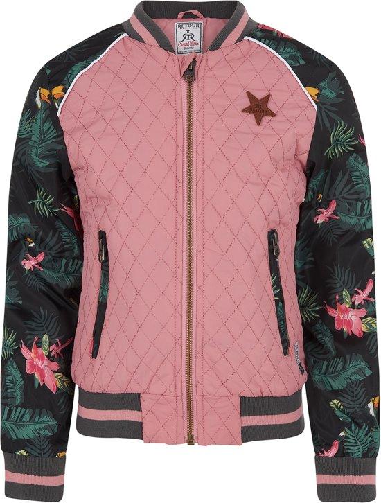 Bolcom Retour Jeans Meisjes Jas Old Pink Maat 170176