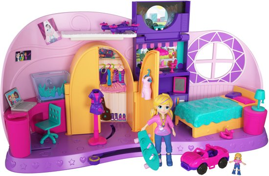 Polly Pocket Tiny Room - Speelfigurenset