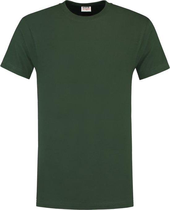 Tricorp T190 Werk T-shirt - Korte mouw - Maat XXXL - Flessengroen