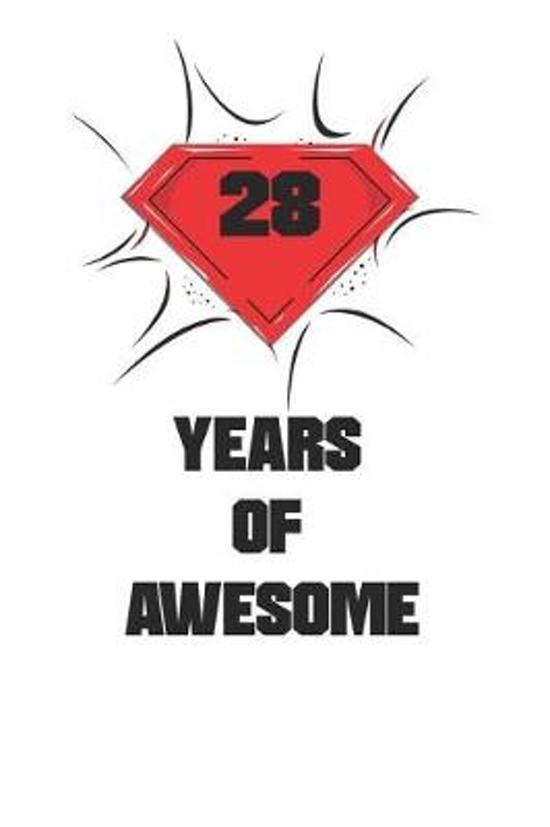 28 Years Of Awesome