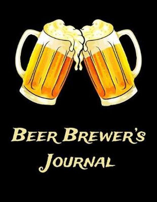 Beer Brewer's Journal: Beer Brewer Log Notebook
