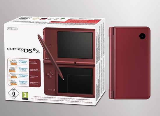 Nintendo DSi XL Bordeaux Rood