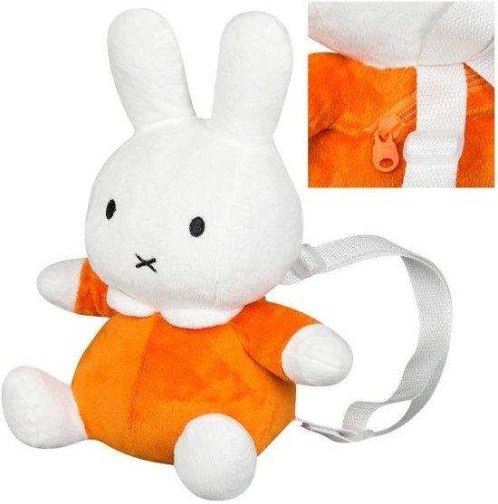 0e7856495e0 Nijntje Pluche 3D Rugzak oranje
