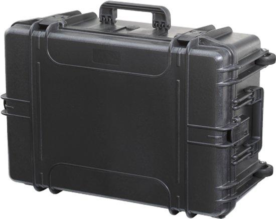 Gaffergear camera koffer 062 zwart   -  excl. plukschuim    -  52,80   x 27,60  x 27,60  cm (BxDxH)