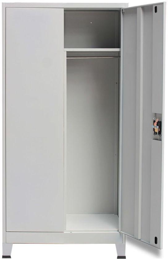 Stevige Lockerkast Met Twee Deuren 90x40x180 Locker Kast Met Planken