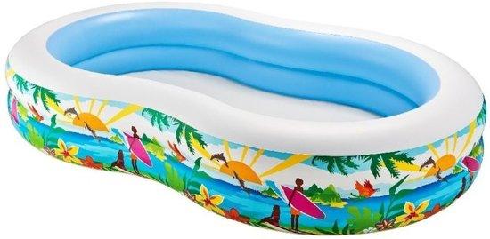 Zwembad opblaasbaar 262 x 160 x 46 cm