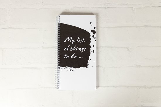 To do lijst - My list of things to do…