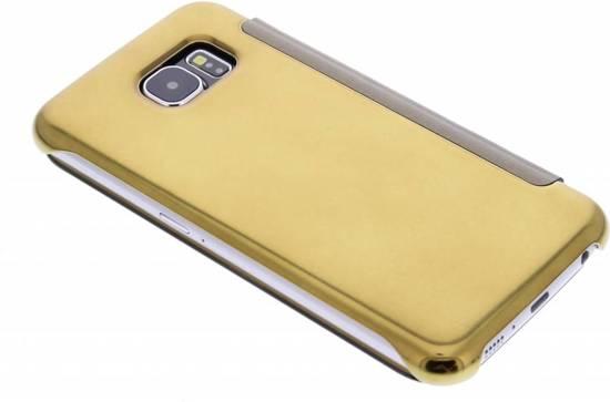Booktype Or Métallique Smart Cover Pour Samsung Galaxy S6 5CQslF