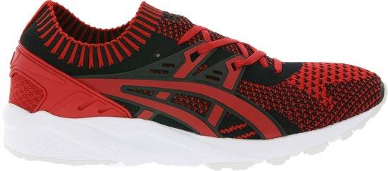 Asics Sneakers Gel Kayano Trainer Knit Heren Rood/zwart Maat 42,5