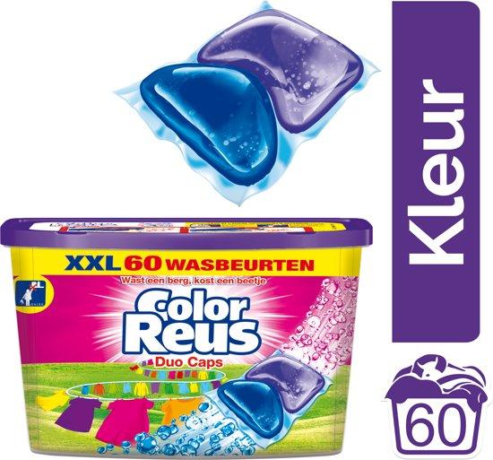 Color Reus Duo-Caps wasmiddel - 60 wasbeurten