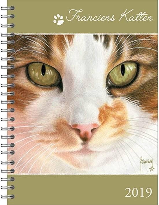 Franciens Katten Bureauagenda 'Josje' - Hard cover