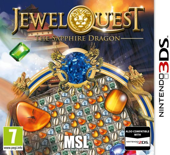 Jewel Quest 6: The Sapphire Dragon - 2DS + 3DS