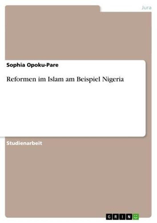 Reformen im Islam am Beispiel Nigeria