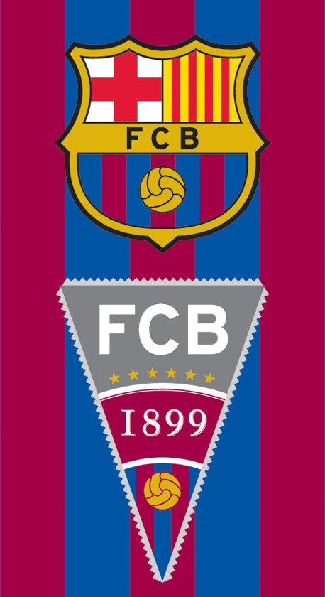 FC Barcelona - Handdoekje - 40x60cm - logo vlag