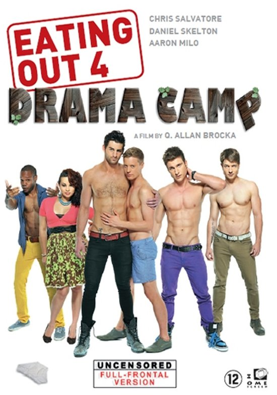 bolcom eating out 4 drama camp dvd harmony santana