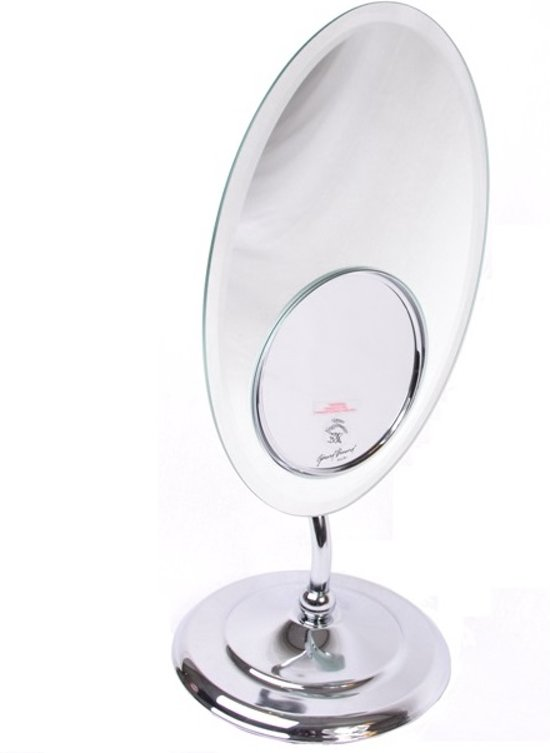 bol.com | Ovale make-up spiegel 3x & 8x vergroting Ø20,5 cm
