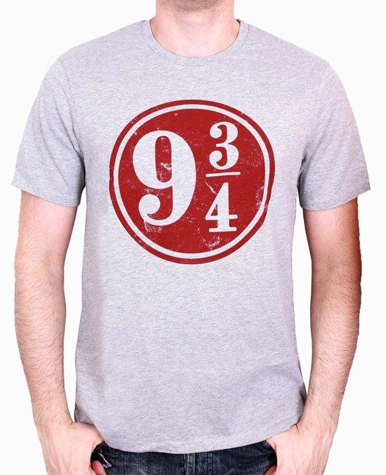 HARRY POTTER - T-Shirt 9 3/4 - Grey (L)